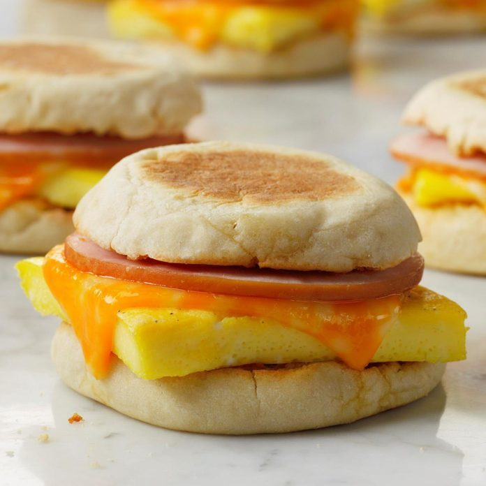 Inspired by: McDonald's Breakfast McMuffin