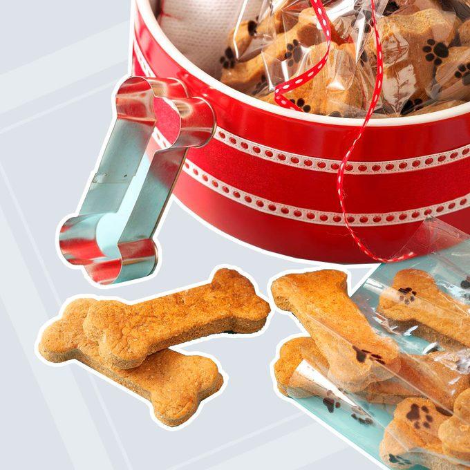 Ginger Dog Biscuits
