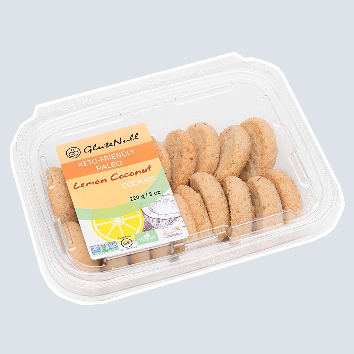 GluteNull Lemon Coconut Cookies