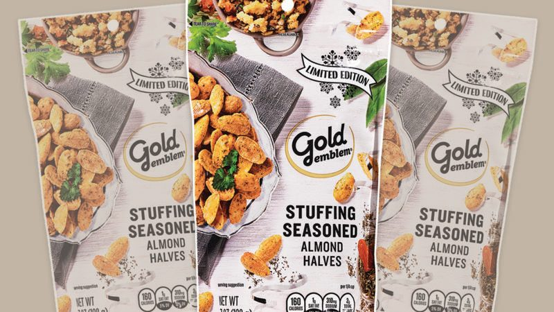 Gold Emblem Stuffing-Flavored Almonds