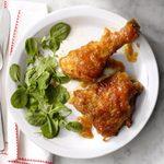 Rhubarb and Honey Chicken