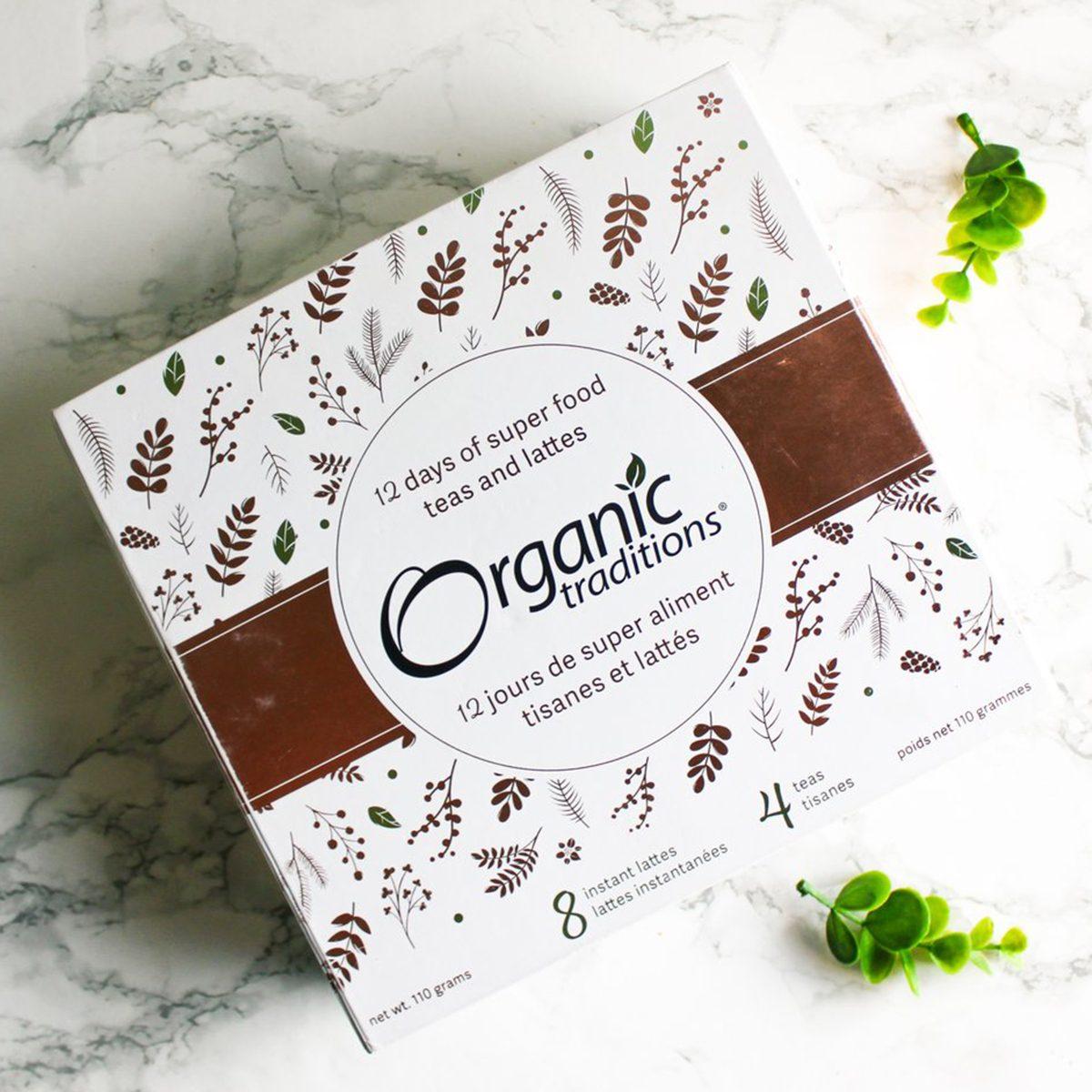 organic traditions 12 day advent calendar