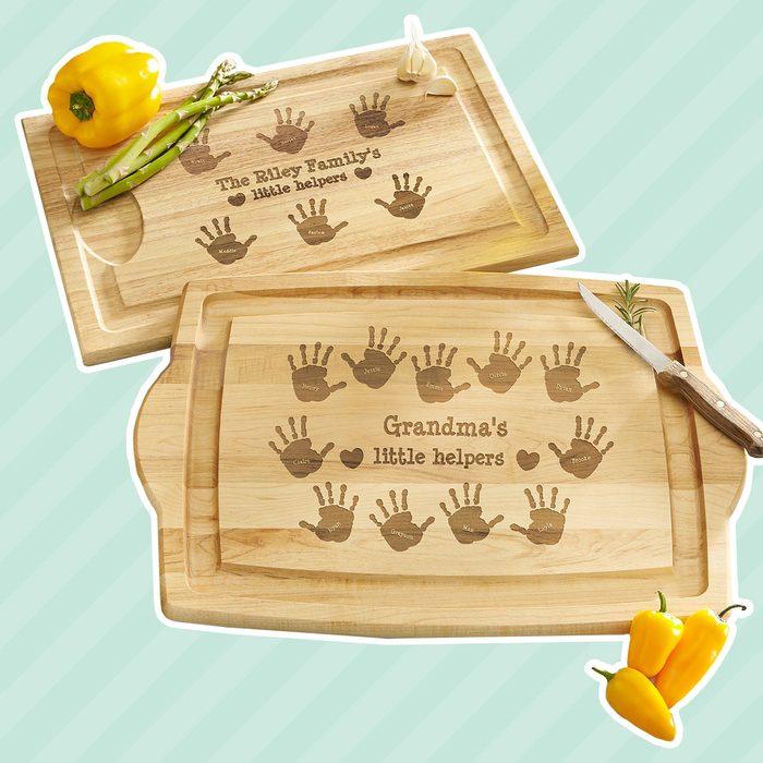 Kitchen Helpers Wood Cutting Board
