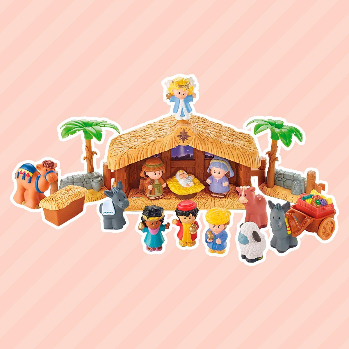 Little People Nativity Play Set