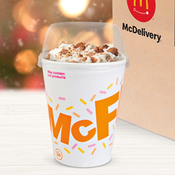 2019 Snickerdoodle McFlurry Micro Ops - Master Photography. Blurred photo of department store with bokeh background.; Shutterstock ID 705844672; Purchase Order: -; Client/Licensee: -