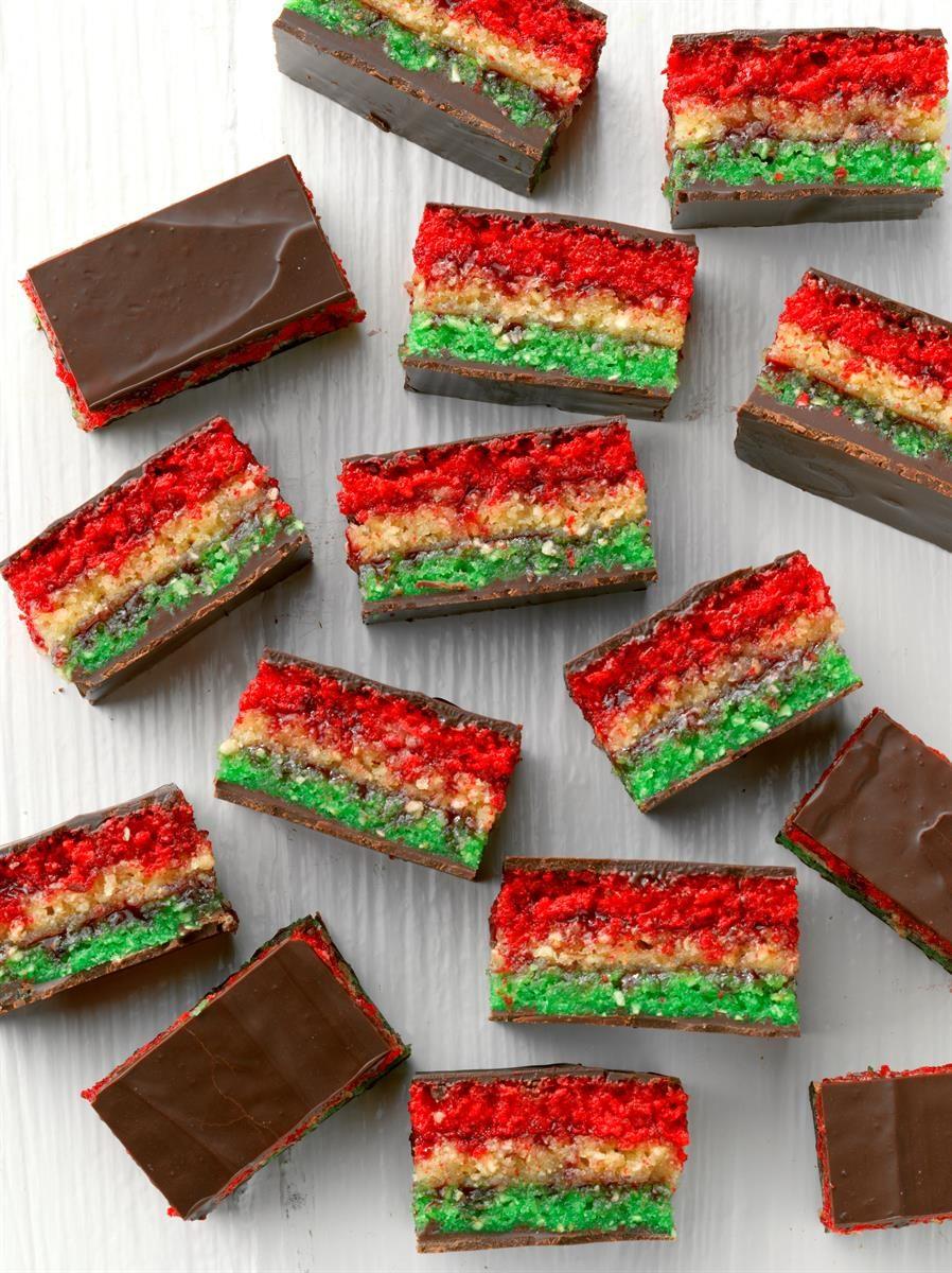 Passover Rainbow Cookies