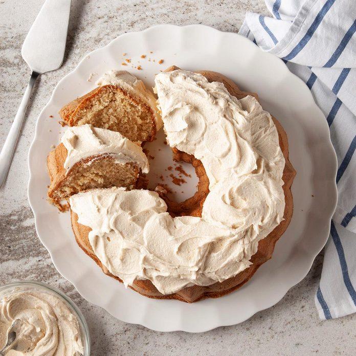 Peanut Butter Bundt Cake
