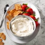 Peanut Butter Whipped Cream Frosting