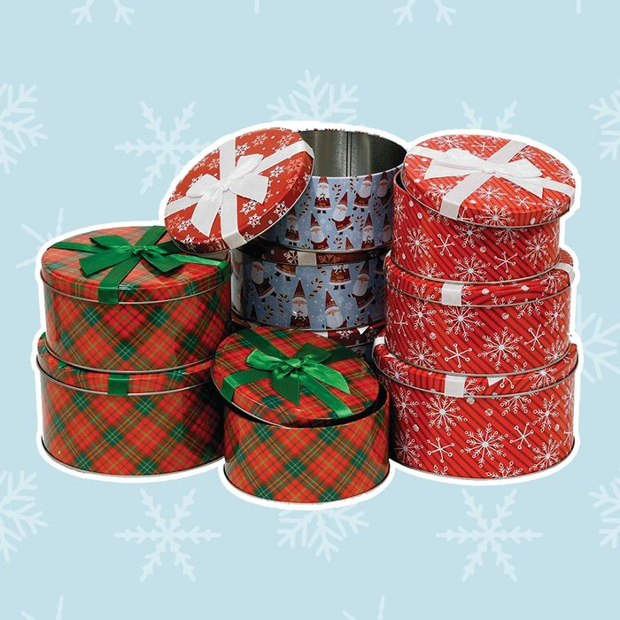 Perfectly Wrapped Tins