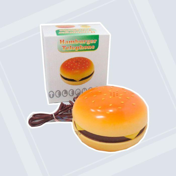 Cheeseburger phone