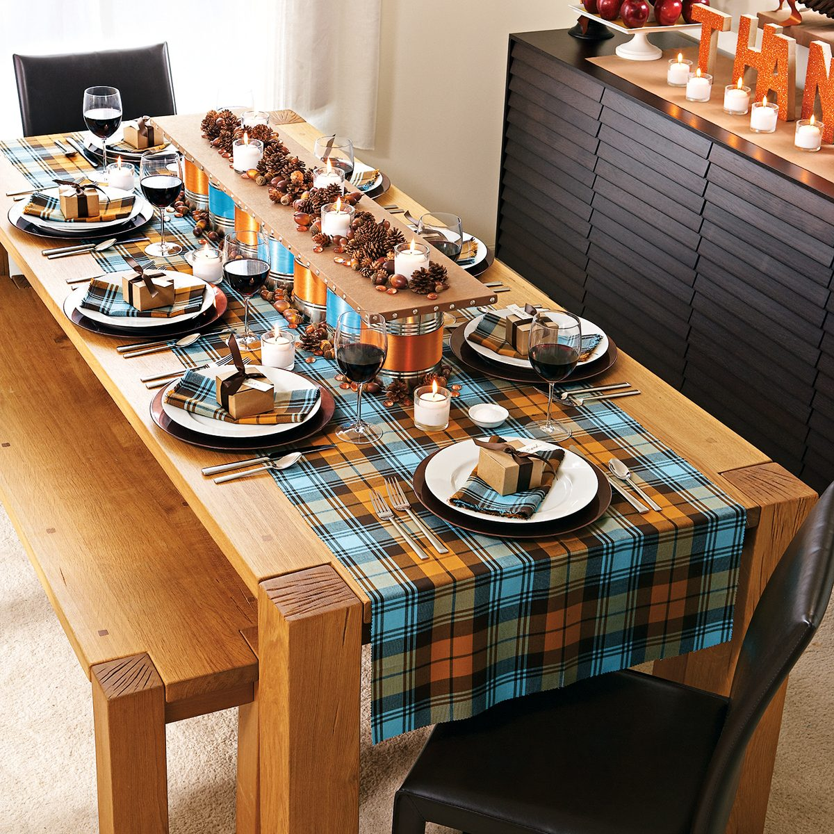 fall, thanksgiving, tablecloth, table runner