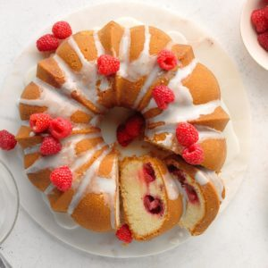 Raspberry Moscow Mule Cake