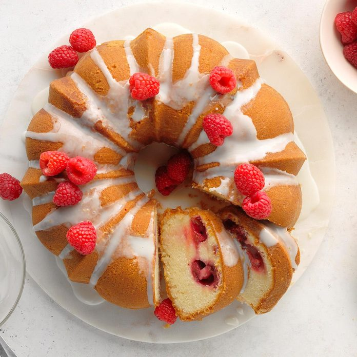 Raspberry Moscow Mule Cake