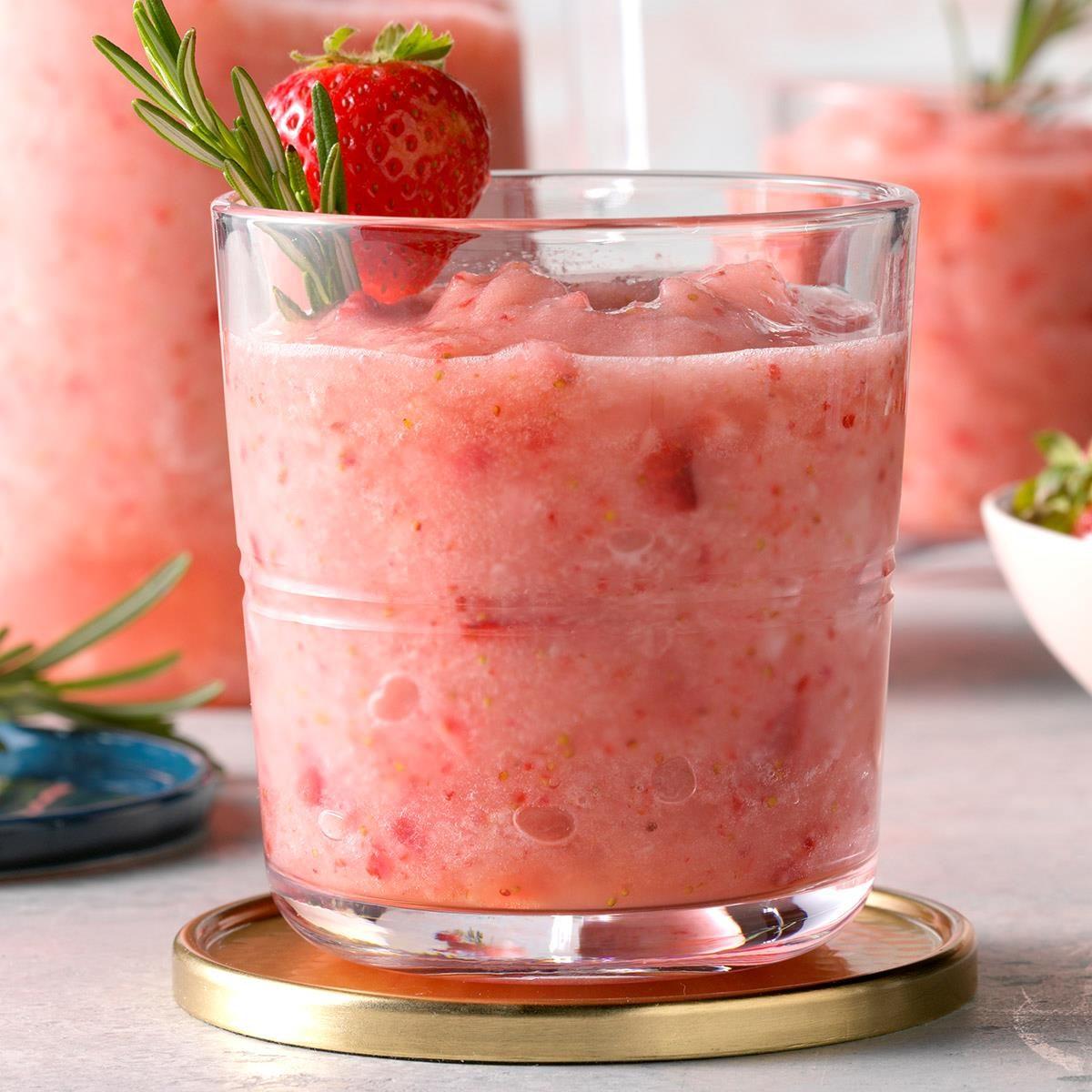 Rosemary Strawberry Daiquiri Recipe How To Make It Taste Of Home
