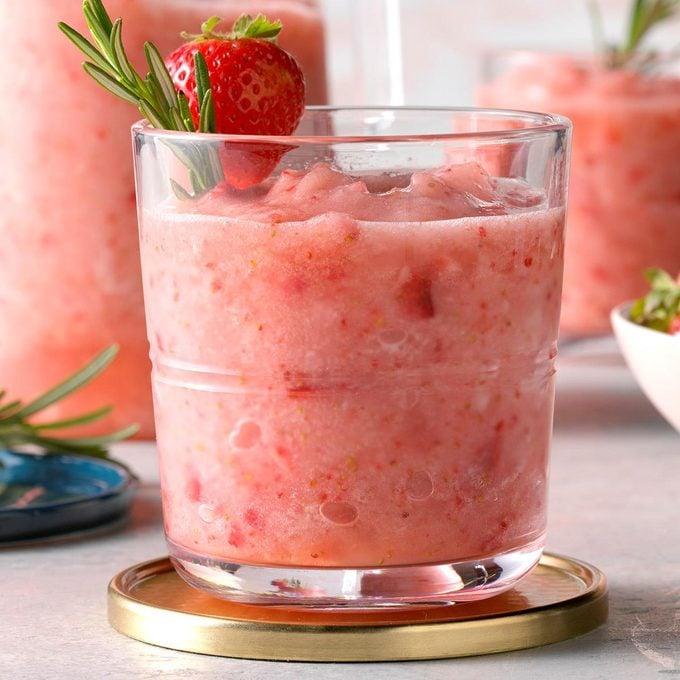 Rosemary Strawberry Daiquiri