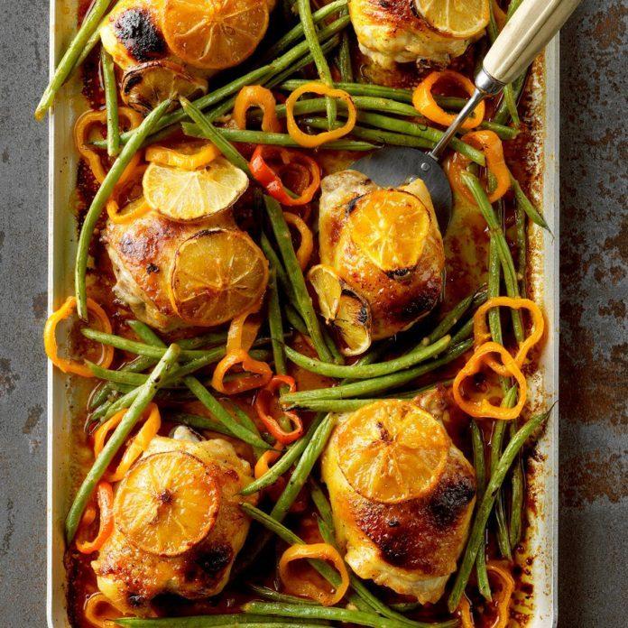 Sheet-Pan Honey Mustard Chicken