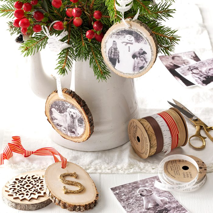 Wooden Photo Ornaments