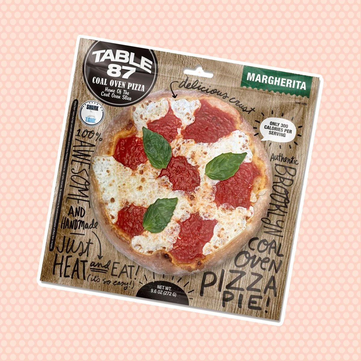 """Table87 Coal Oven Margherita Pizza 10"""", 4 Pies"""
