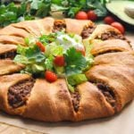 How to Make a Taco Crescent Ring