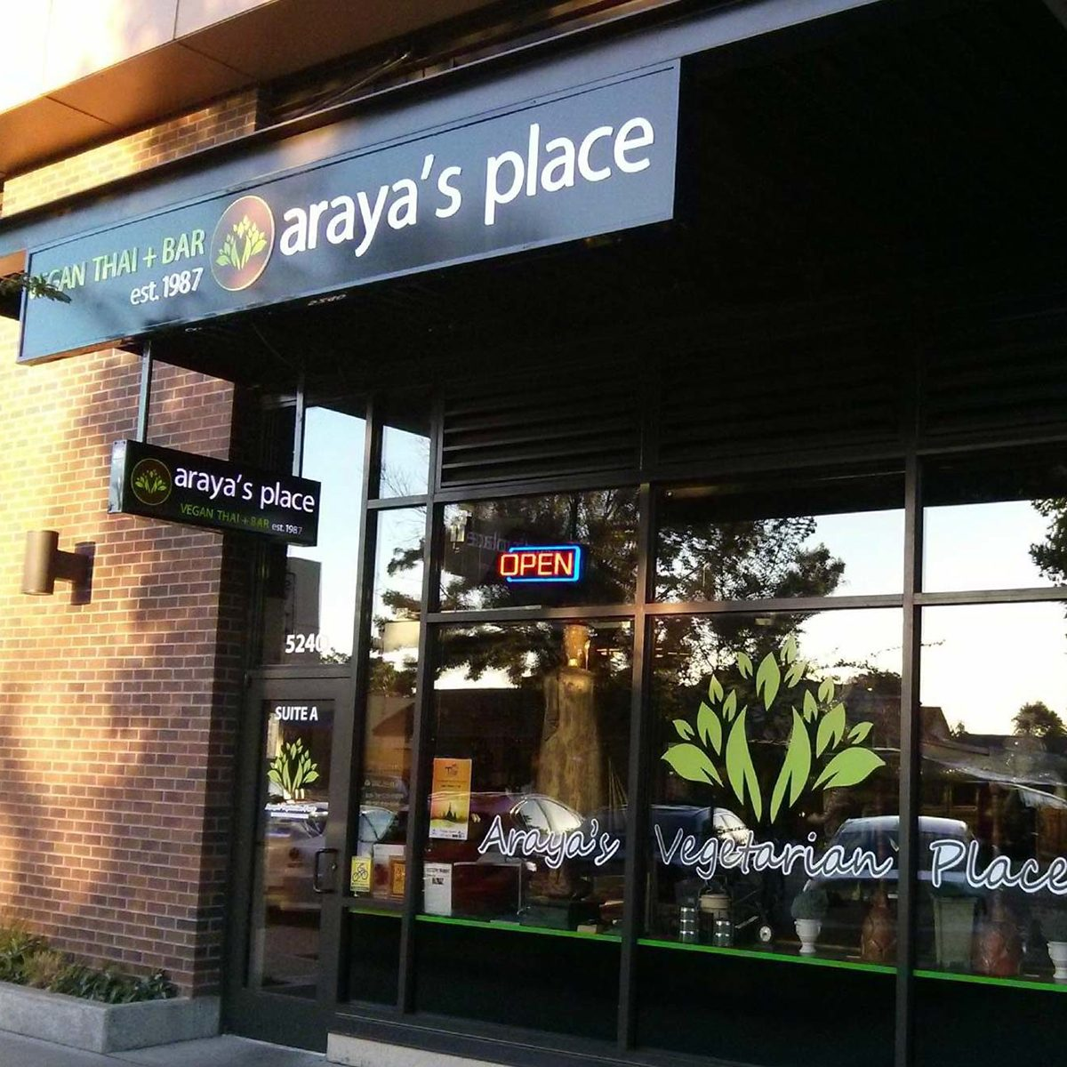 Washington: Araya's Place, Seattle