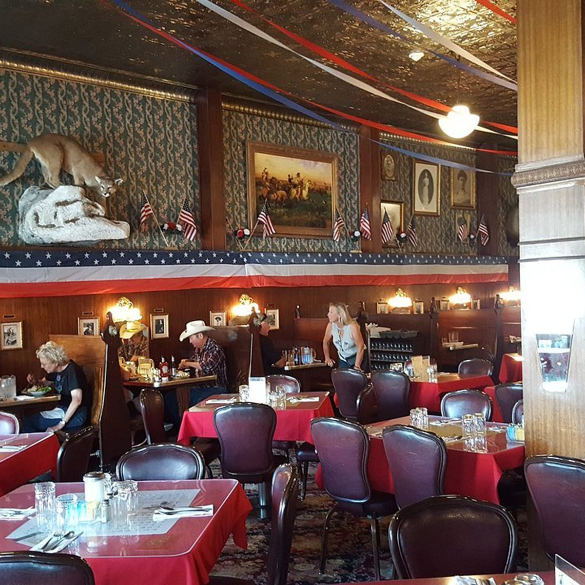 Wyoming: Buffalo Bill's Irma Hotel, Cody