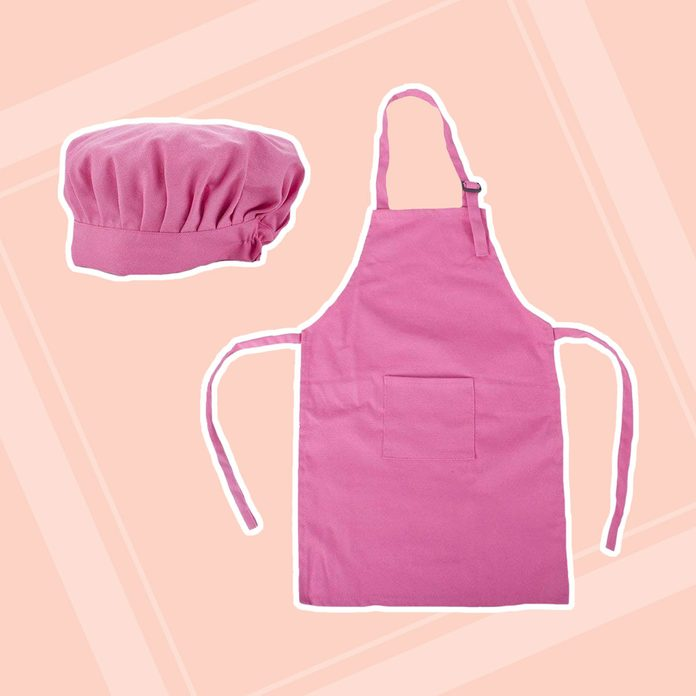 Chef Apron and Matching Hat