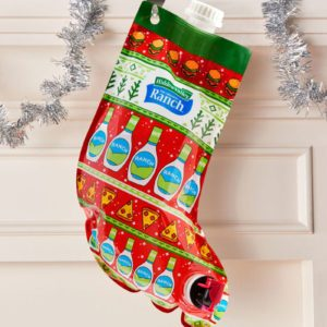 Hidden Valley Is Selling a Christmas Stocking That's Full of Ranch Dressing