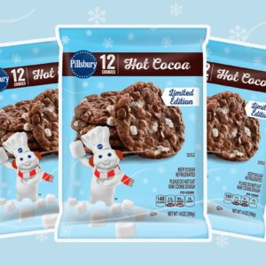 Pillsbury Hot Cocoa Cookie Dough Is BACK and We're Ready to Bake