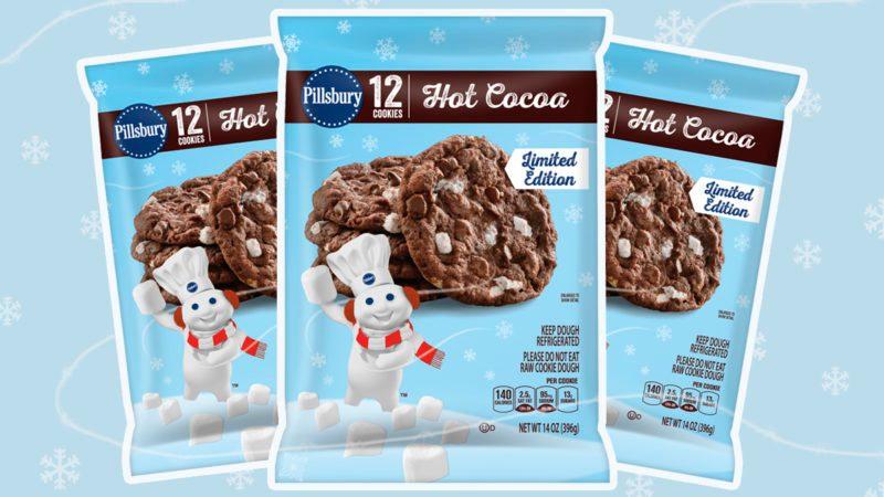 pillsbury hot cocoa cookie dough
