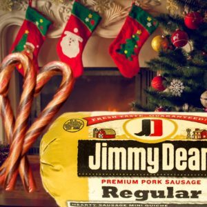 Sausage-Flavored Candy Canes Are Here, Courtesy of Jimmy Dean