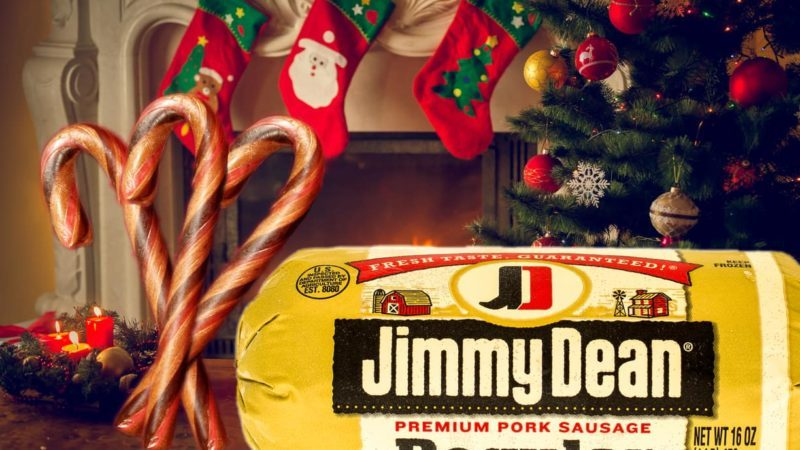 Jimmy Dean Sausage Candy Canes