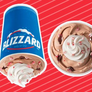 Dairy Queen's Peppermint Hot Cocoa Blizzard Is Here Just in Time for Christmas