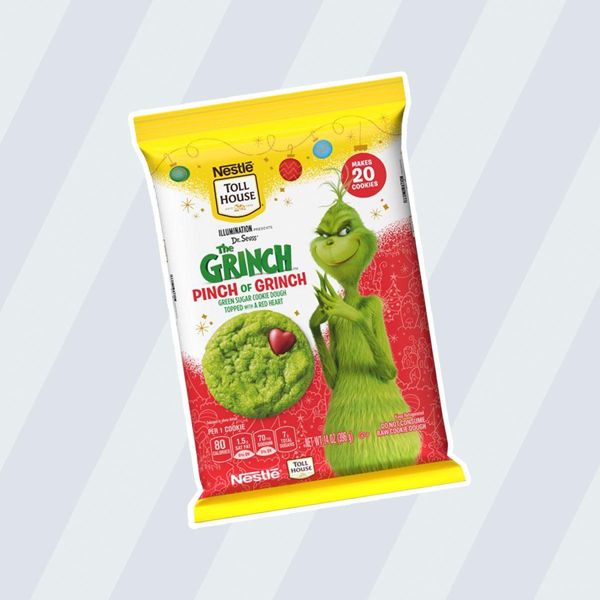 Nestle's Grinch Cookies