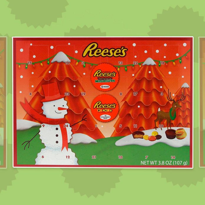 The Reese's Advent Calendar Is Simply Perfect for Peanut Butter Lovers
