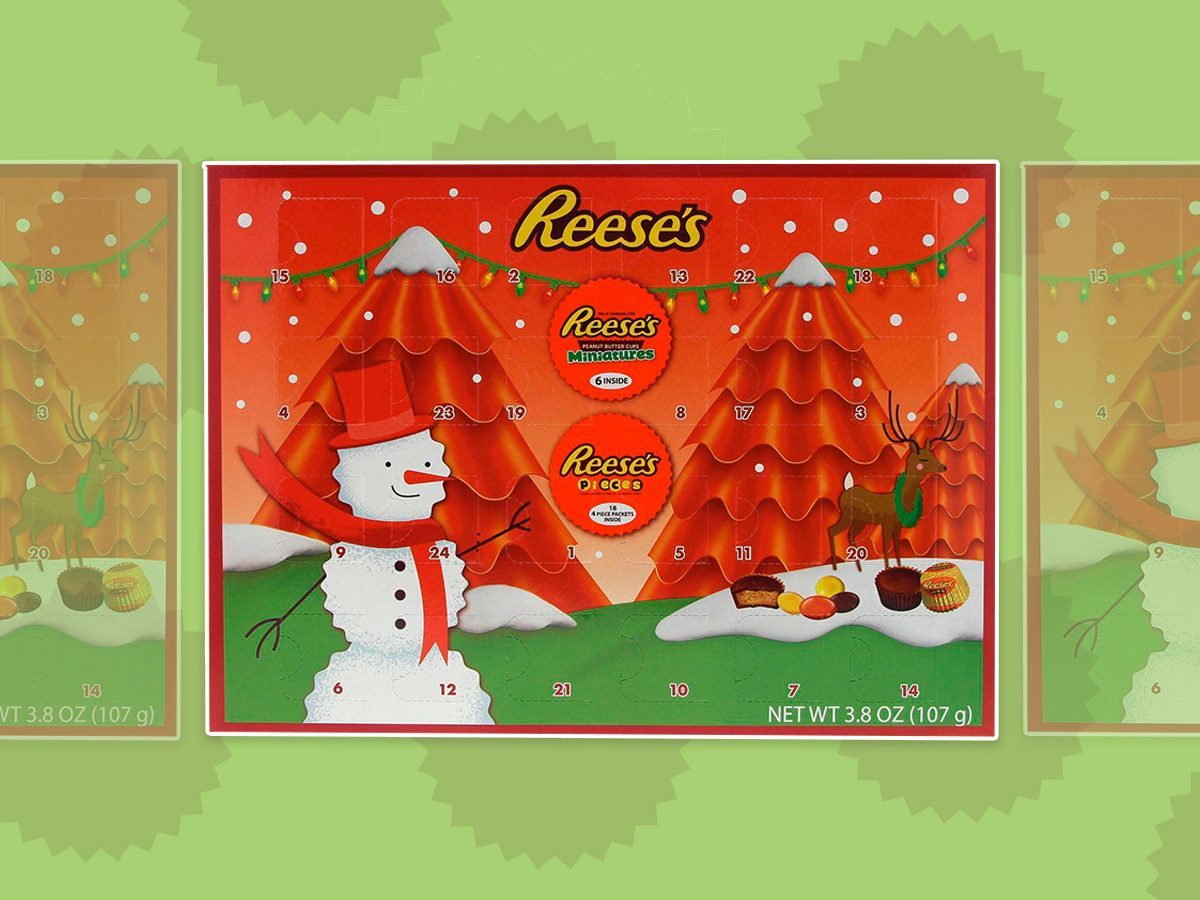 reeses advent calender