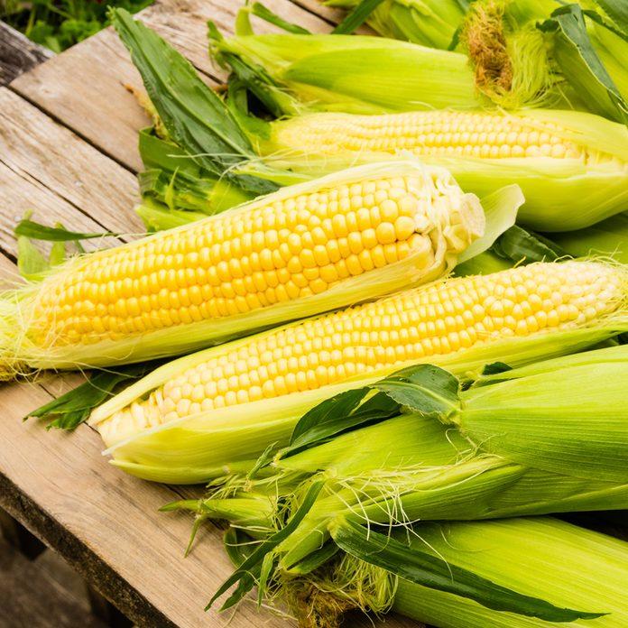 Ears of freshly harvested yellow sweet corn; Shutterstock ID 148698824; Job (TFH, TOH, RD, BNB, CWM, CM): Taste of Home