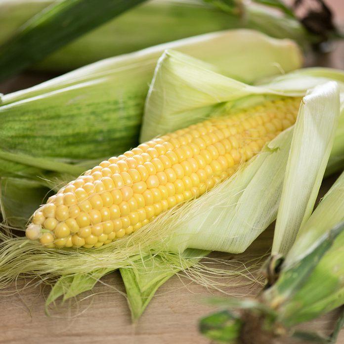 Grains of ripe corn. An ear of corn isolated.; Shutterstock ID 1498850321; Job (TFH, TOH, RD, BNB, CWM, CM): Taste of Home