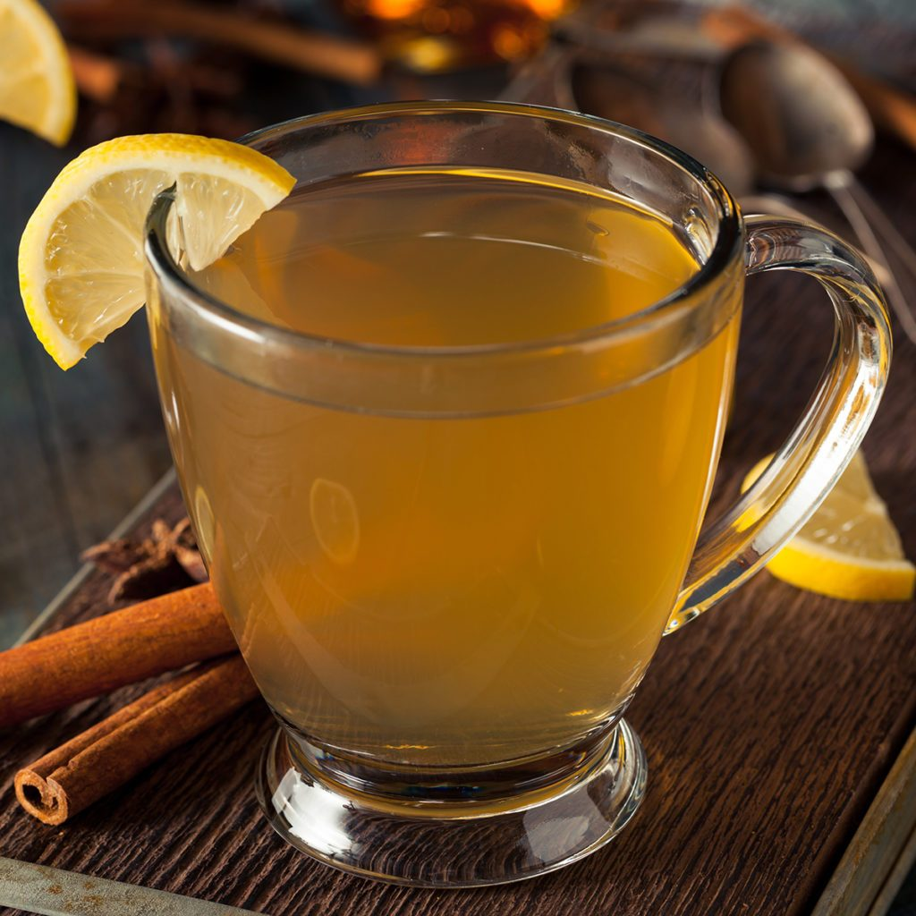 Warm Hot Toddy with Lemon Bourbon and Spices; Shutterstock ID 346468967; Job (TFH, TOH, RD, BNB, CWM, CM): Taste of Home