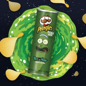 Rick and Morty 'Pickle Rick' Pringles Take Snack Time to Another Dimension