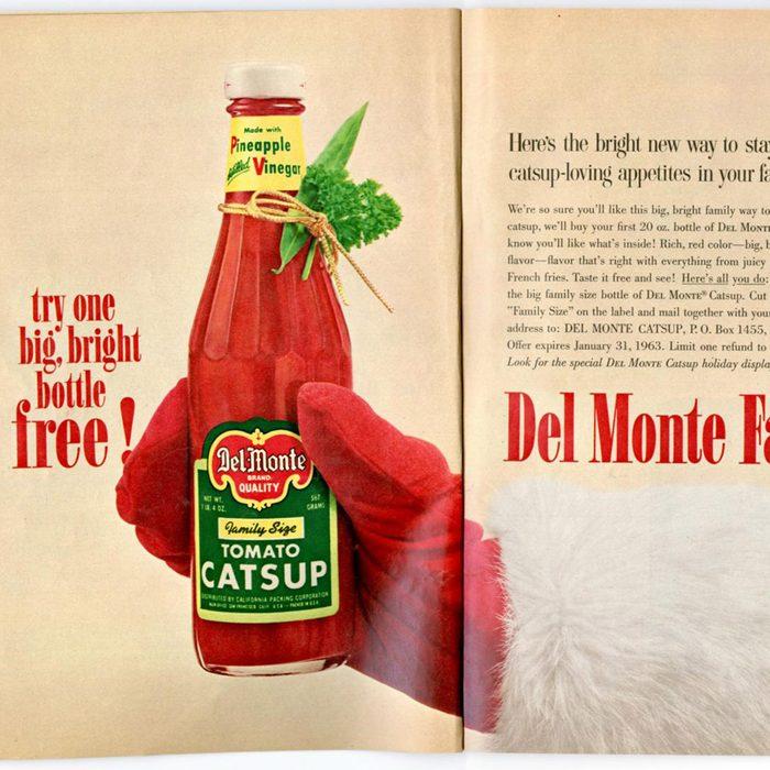 vintage Del monte ad