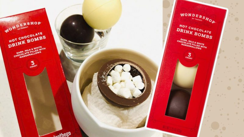 Target Is Selling Hot Chocolate Bombs That Melt In Your Mug
