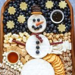 This Snowman Cheese Board Is the Best Idea for a Holiday Party Appetizer
