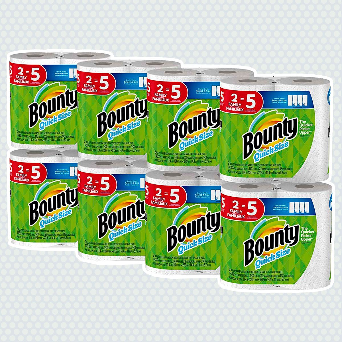 Bounty Quick Size Family Pack