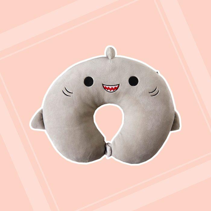 Bee Happy Squishmallow Travel Pillow