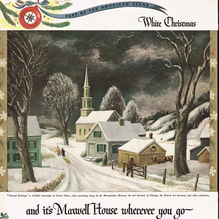 vintage maxwell house ad