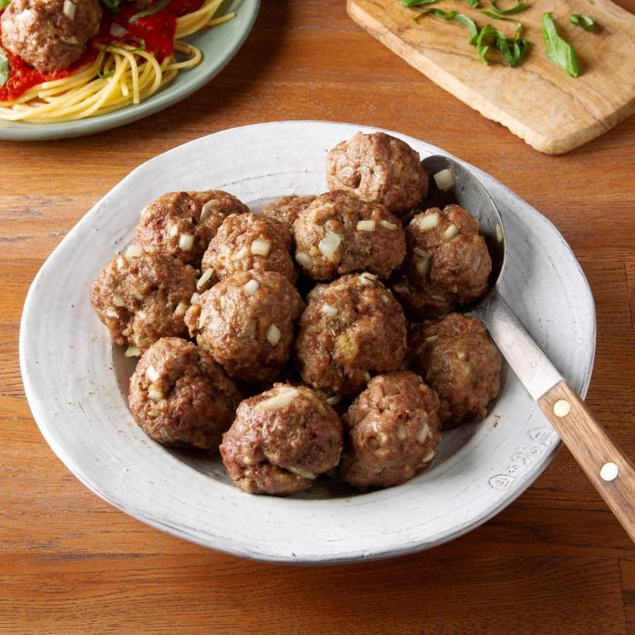 Day 28: Quick and Simple Meatballs