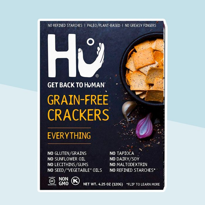 Hu Paleo Vegan Crackers   Everything 2 Pack   Keto Friendly, Gluten Free, Grain Free, Low Carb, No Added Oils, No Refined Starches