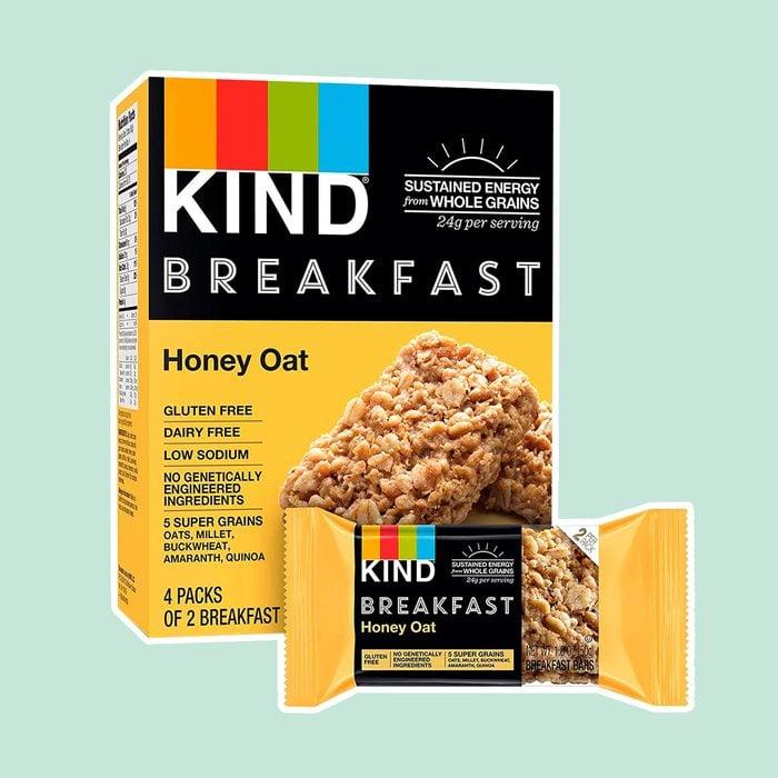 KIND Breakfast Bars, Honey Oat, Gluten Free, 1.8 Ounce, 32 Count
