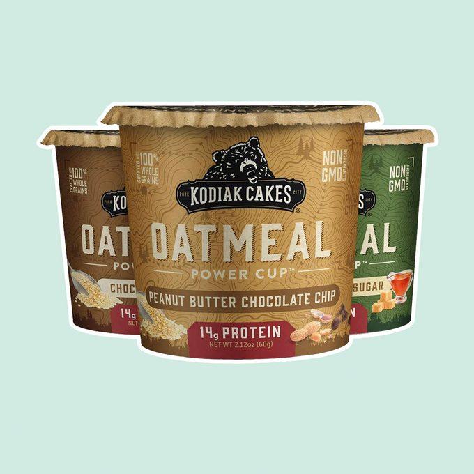 healthy breakfast on-the-go Kodiak Cakes Instant Oatmeal Cup