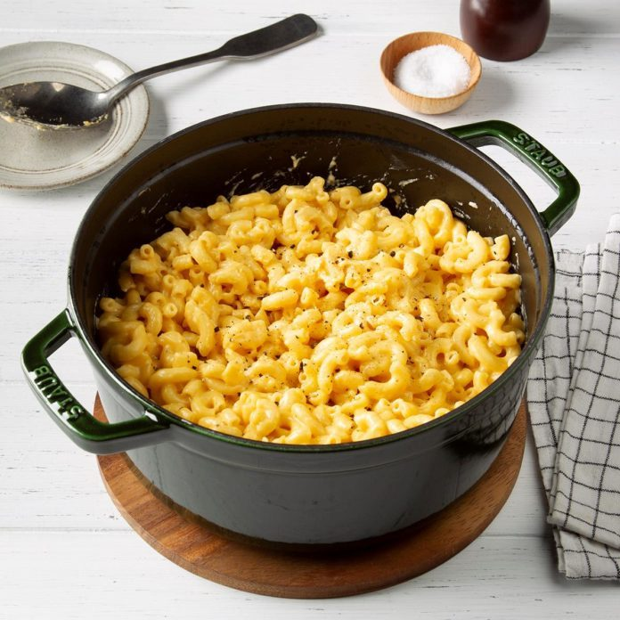 One Pot Mac and Cheese